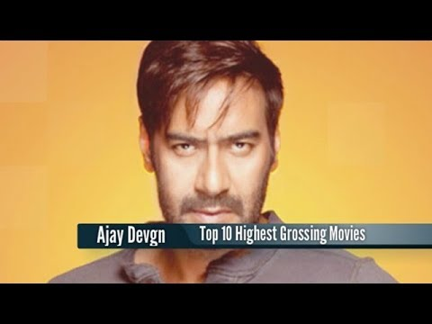 Top 10 Highest Grossing Ajay Devgn Movies : Best Bollywood Films List