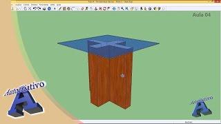 Curso de SketchUp - Aula 04/20 - Módulo Básico - Autocriativo
