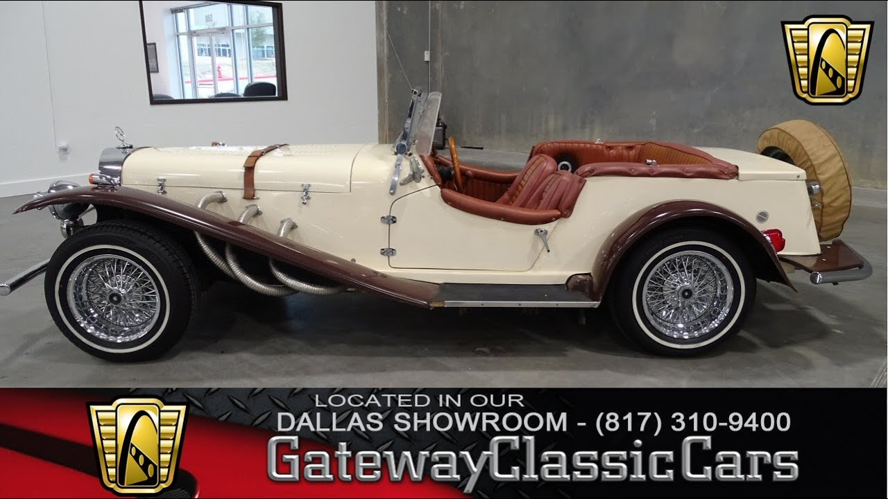 1987 Fiberfab Gazelle - Gateway Classic Cars Dallas - #35 - YouTube