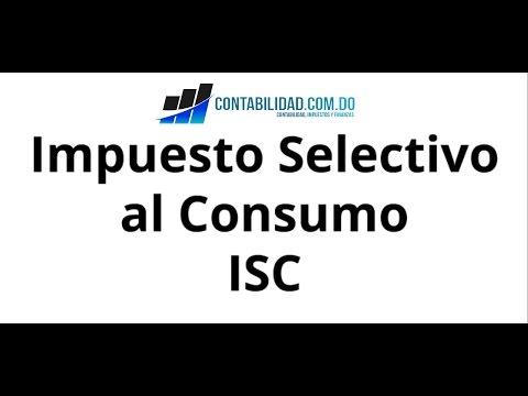 Impuesto Selectivo al Consumo - ISC