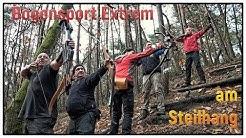 """Bogensport Extrem """"Steilhang"""" Thomas Brugger & Freunde   Extreme Archery 111 lbs Recurve (7)"""
