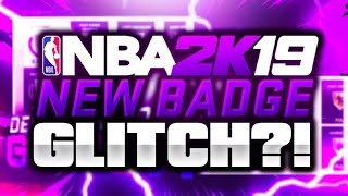 NBA2K19 BADGE GLITCH RETURNS? GRINDING DF FACE REVEALED DURING BEEF WITH NADEXE!