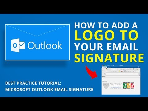 How to add logo to email signature in outlook mac