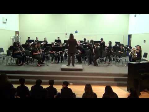 The Sierramont Middle School. Intermediate Band. March 2018