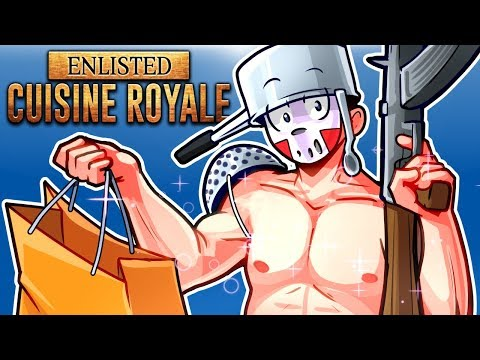 CUISINE ROYALE - NEW RANDOM BR GAME! (Solo Vs Squirrel) PUBG 2?