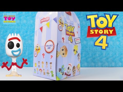 Toy Story 4 Disney Surprise Mini Figures Blind Bag Toy Review | PSToyReview