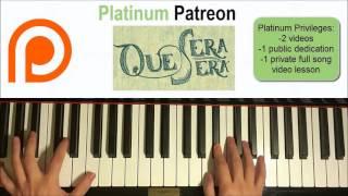 Doris Day - Que Sera, Sera    Patreon Dedication #47 (Piano Cover)