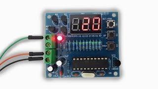 Baixar AT89C2051 DS18B20 DIY Kit Digital Temperature Controller