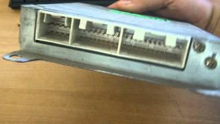 видео блок управления двигателем мазда