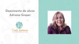 Depoimento da aluna Adriana Graper do Empório Raizeira em Joinville.