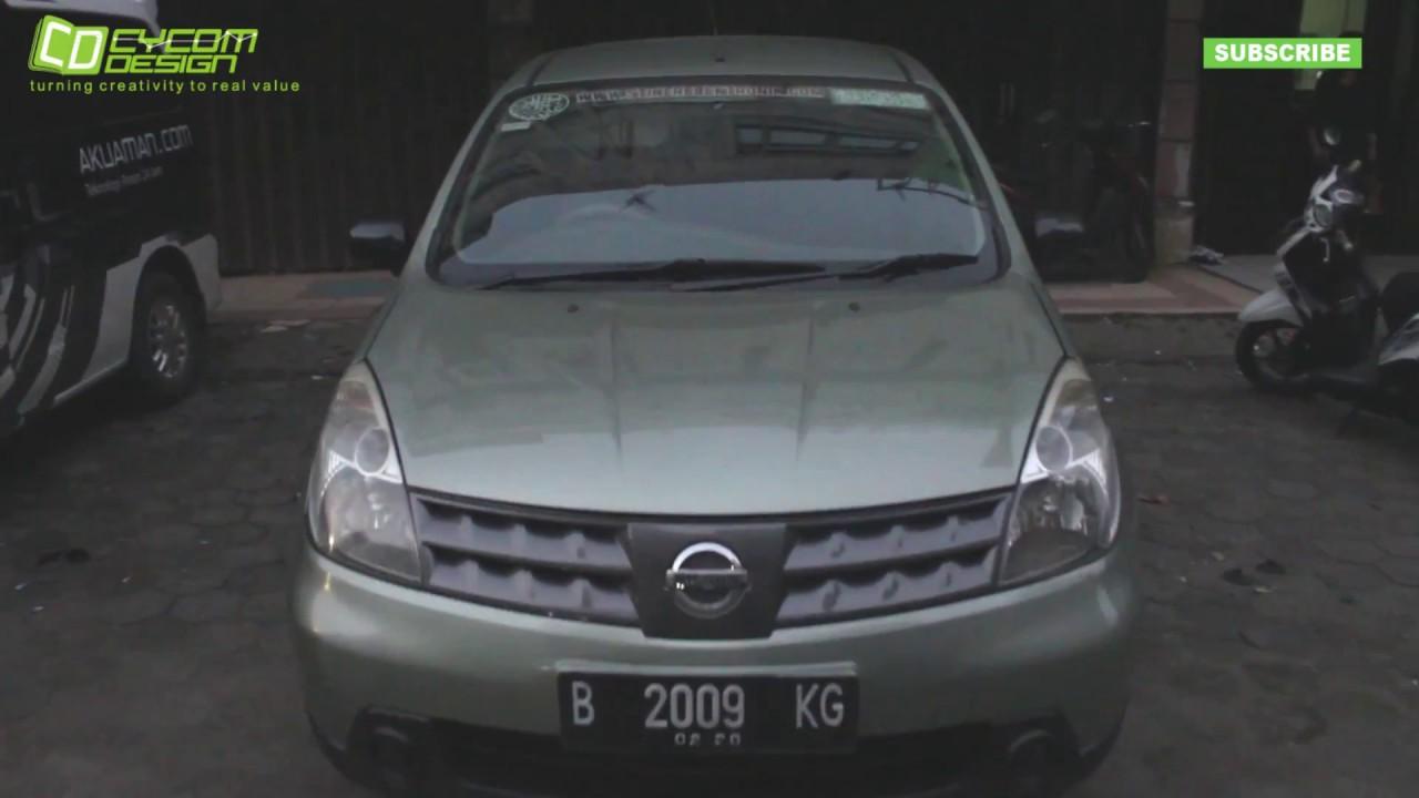Video penerapan stiker elektronik pada mobil livina youtube