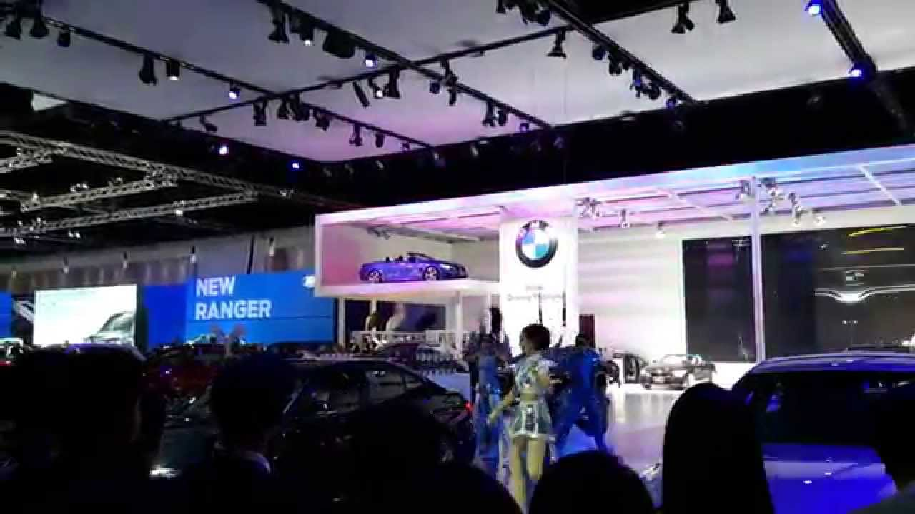 Exhibition Booth Bangkok : บรรยากาศ motor show บูธ bmw youtube
