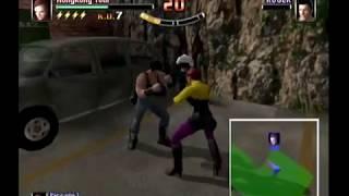 Spikeout Battle Street Hong Long x2 XBox Live Hard Mode Play