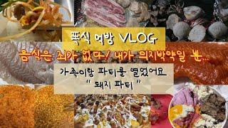 먹방 VLOG 폭식 브이로그_입터짐 | 청년피자 막창 …