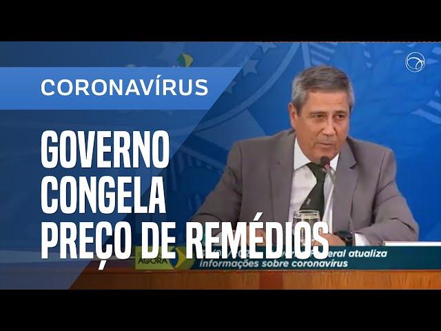 GOVERNO CONGELA PREÇO DE REMÉDIOS POR DOIS MESES