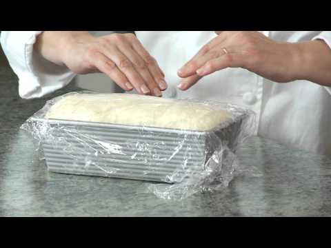 BREAD 101 -- basic white bread: shaping and baking the loaf