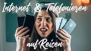 Internet & Telefonieren auf Reisen - so einfach geht es! l Whats Next Reisetipps