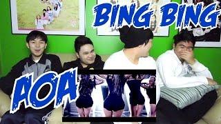 AOA BING BING MV REACTION (FUNNY FANBOYS)