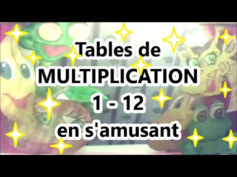 Table de multiplication de 1 10 ce1 coloriages - Apprendre les tables d addition en s amusant ...