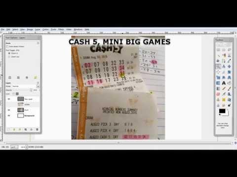 Cash 5, Mini Big Games Tips