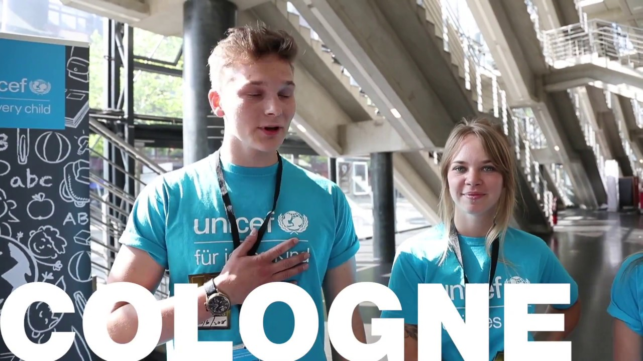 COLOGNE SHOW UNICEF