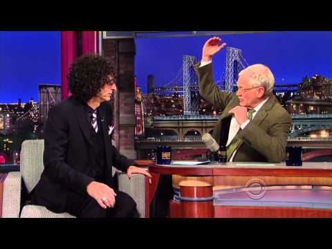 Howard Stern on David Letterman - November 22 2013 - Full In