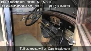 1930 Studebaker Erskine  for sale in Nationwide, NC 27603 at #VNclassics