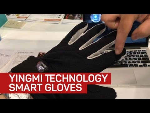 Hands on with the smart gloves that translate sign language to text