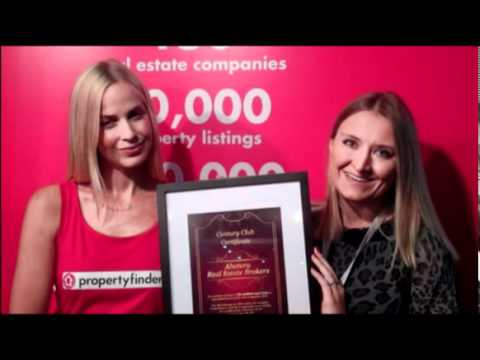 Abatera Real Estate in Dubai received propertyfinder.ae's Century Club certificate - Sept 2010