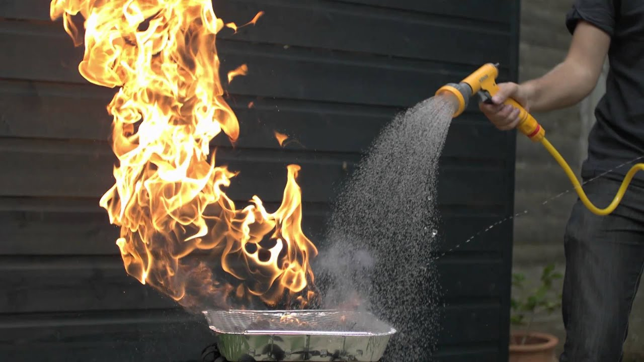 Water vs fire in slow motion the slow mo guys youtube - How to put out a fireplace ...