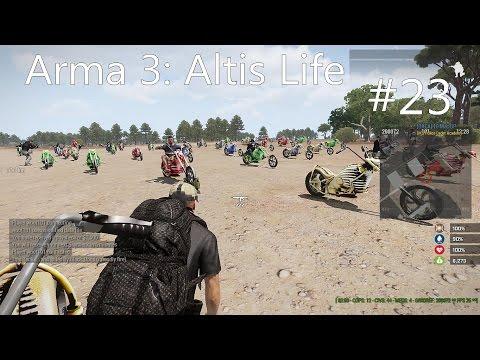 Arma 3: Altis Life ขับรถวิบากกรรม #23