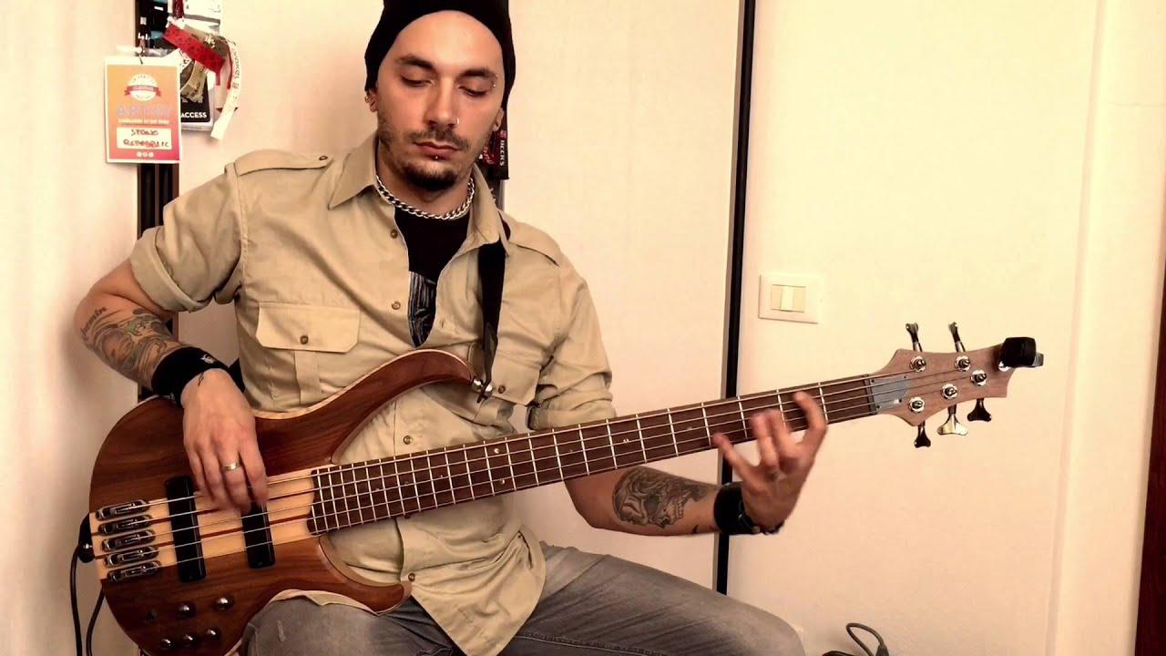 lucio manca practicing symbolic with ibanez btb675 youtube