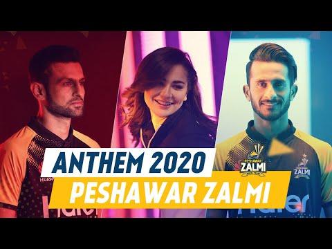 Zalmi By Fortitude - Pukhtoon Core   Peshawar Zalmi Official Anthem 2020   HBLPSLV