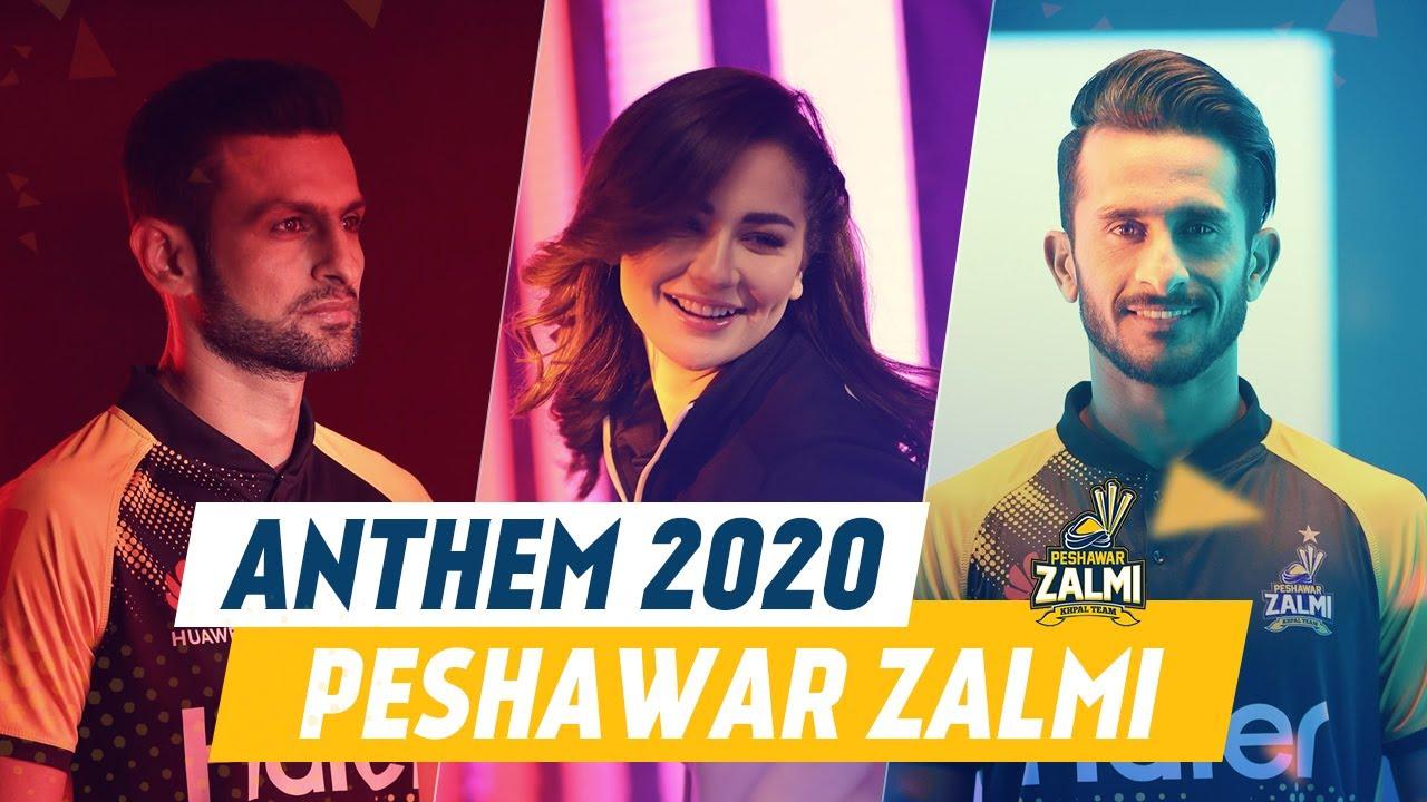 Zalmi by Fortitude - Pukhtoon Core | Peshawar Zalmi Official Anthem 2020 | HBLPSLV
