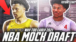 A WAY TOO EARLY 2021 NBA MOCK DRAFT! JALEN GREEN? CADE CUNNINGHAM? EVAN MOBLEY?