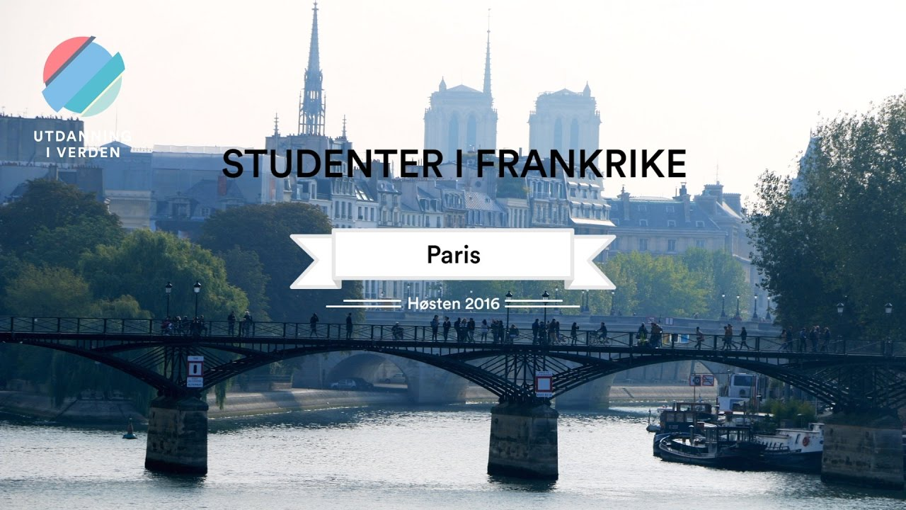 Utdanning i verden - Studenter i Paris