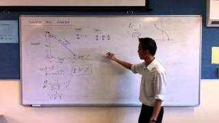 Related Rates - Boat w/ Inverse Trig