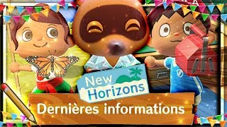 ➤ NOUVELLES IMAGES ❰ANIMAL CROSSING NEW HORIZONS❱ : BOUCHE, COIFFURE, 3 ÉTAGES ?....