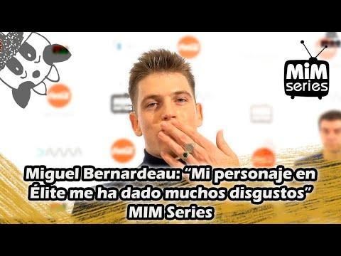 Miguel Bernardeau: Mi personaje en Élite me ha dado muchos disgustos