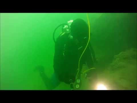 Bottom of Lake Erie