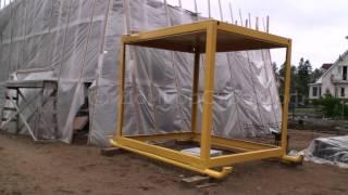 Подготовка каркаса для антивандальной бытовки(, 2015-06-30T00:21:21.000Z)