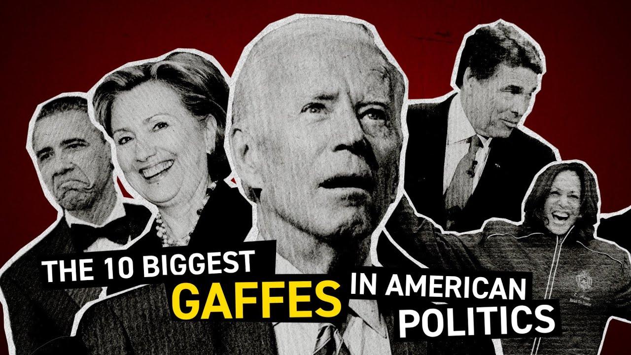 Top 10 Funniest Gaffes in American Politics