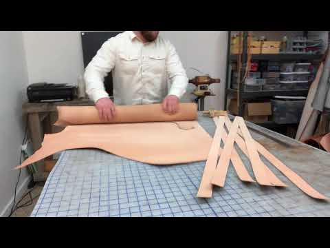 Making a Veg Tan Leather Belt