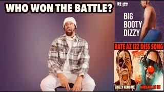 AZ IZZ DISS VS GRIZZY DISS - WHO WON THE BATTLE HONESTLY?