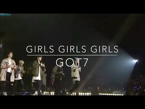 Cute Moment ท่าเต้นน่ารักๆ เพลง  Girls Girls Girls - GOT7