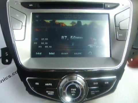 2011 2012 Hyundai Elantra Navigation System Elantra Dvd