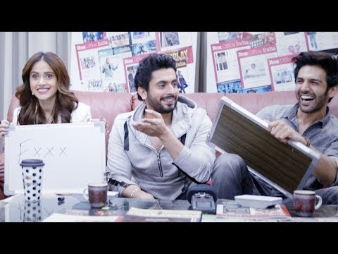 Compatibility test with Kartik Aaryan, Nushrat Bharucha and Sunny Singh