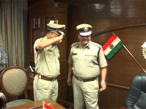 Change of Guard at Haryana Police - DGP RS Dalal to SN Vashisht