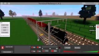[FR] VIEUX TRAIN OF WARES (Terminal Railways - ROBLOX)