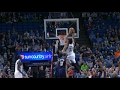 Karl-Anthony Towns Slams Down Two RIDICULOUS Dunks | 02.10.17